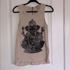 Lucky Brand elephant tank top